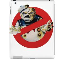 Bustin' Ghosts : The Marshmallow iPad Case/Skin