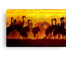 Early Risers Canvas Print