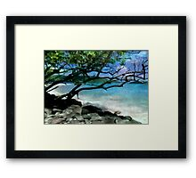 Tropical Utopia Framed Print
