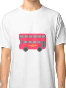 Red London Bus Classic T-Shirt