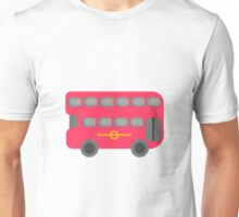 Red London Bus Unisex T-Shirt