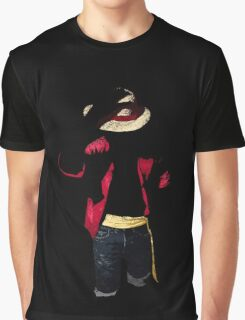 Grungy Pirate King Graphic T-Shirt