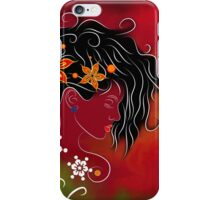 Volimius V1 - beauty with flowers iPhone Case/Skin