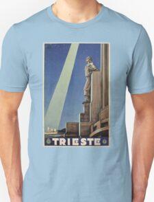 Vintage Art Deco Trieste Italian travel Unisex T-Shirt