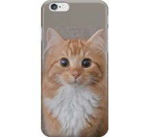 Mou-Mou the Kitten is Super Cute iPhone Case/Skin