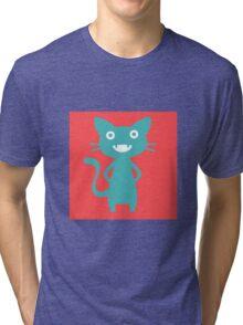 Hex Kitty Tri-blend T-Shirt