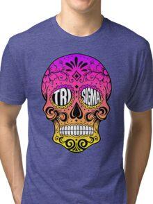 Tri Sigma Skull Tri-blend T-Shirt
