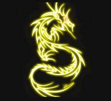 Dragon neon jaune Unisex T-Shirt
