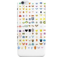 Original 151 Pokemon iPhone Case/Skin