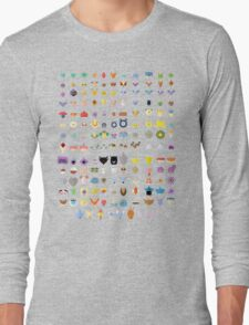 Original 151 Pokemon Long Sleeve T-Shirt