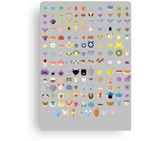 Original 151 Pokemon Canvas Print