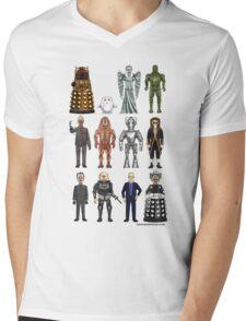 Who's Bad? Mens V-Neck T-Shirt