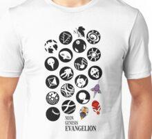 The Neon Genesis Evangelion Crew! Unisex T-Shirt