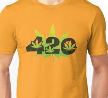 420 Weed Leafs Unisex T-Shirt