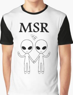 MSR X-Files Graphic T-Shirt