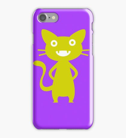 Golden Kitten iPhone Case/Skin