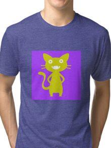 Golden Kitten Tri-blend T-Shirt