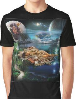 Pocahontas digital illustration Graphic T-Shirt