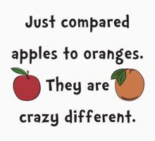 Apples Oranges Kids Tee