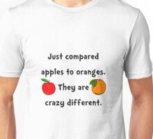 Apples Oranges Unisex T-Shirt