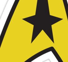 Star Trek Command Insignia Sticker