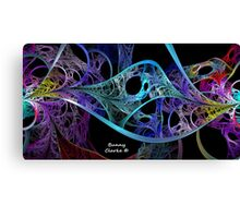 DNA Dance Canvas Print