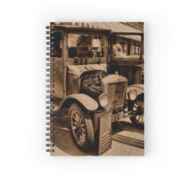 """1929 MODEL T FORD""... prints and products Spiral Notebook"