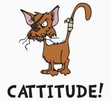 Cattitude Kids Tee