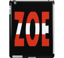 Zoe - Loin d'ici - Eurovision 2016 - Austria iPad Case/Skin