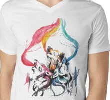 soul of the wolf Mens V-Neck T-Shirt