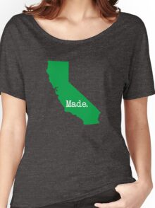 California Made CA Green Women's Relaxed Fit T-Shirt