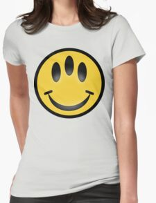 Evolution Inspired Smiley Emoticon  Womens Fitted T-Shirt