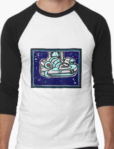 Alcubierre Drive Warp Ship COLORIZED Men's Baseball ¾ T-Shirt