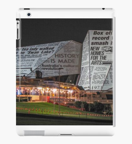 Adelaide Festival Centre - Video Projection iPad Case/Skin