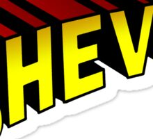 SheVibe Superman Style Logo Sticker