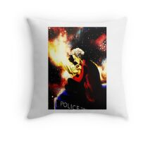 Twelfth Doctor - sketching Throw Pillow