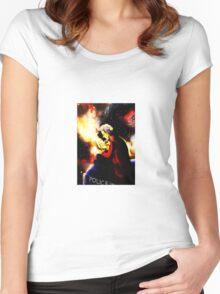 Twelfth Doctor - sketching Women's Fitted Scoop T-Shirt