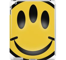 Evolution Inspired Smiley Emoticon  iPad Case/Skin