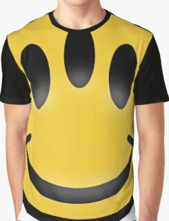 Evolution Inspired Smiley Emoticon  Graphic T-Shirt