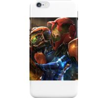 Metroid Digital  iPhone Case/Skin