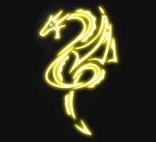 Dragon neon jaune 2 Unisex T-Shirt