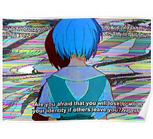 Rei Ayanami Quote 1 Poster