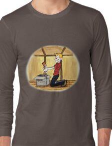 When Calvin will be tall Long Sleeve T-Shirt