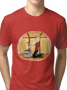 When Calvin will be tall Tri-blend T-Shirt