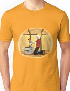 When Calvin will be tall Unisex T-Shirt