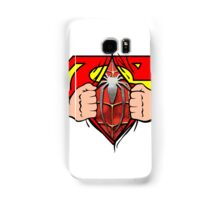 Super Spider-Man Graphic  Samsung Galaxy Case/Skin