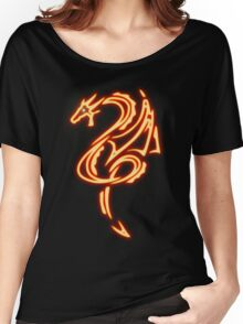 Dragon neon rouge 2 Women's Relaxed Fit T-Shirt