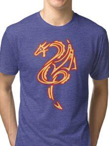 Dragon neon rouge 2 Tri-blend T-Shirt