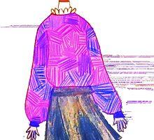Glitch Girl by Drexel Holland