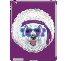Star Disco dog Bichon iPad Case/Skin